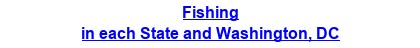 Fishing in each State and Washington, DC